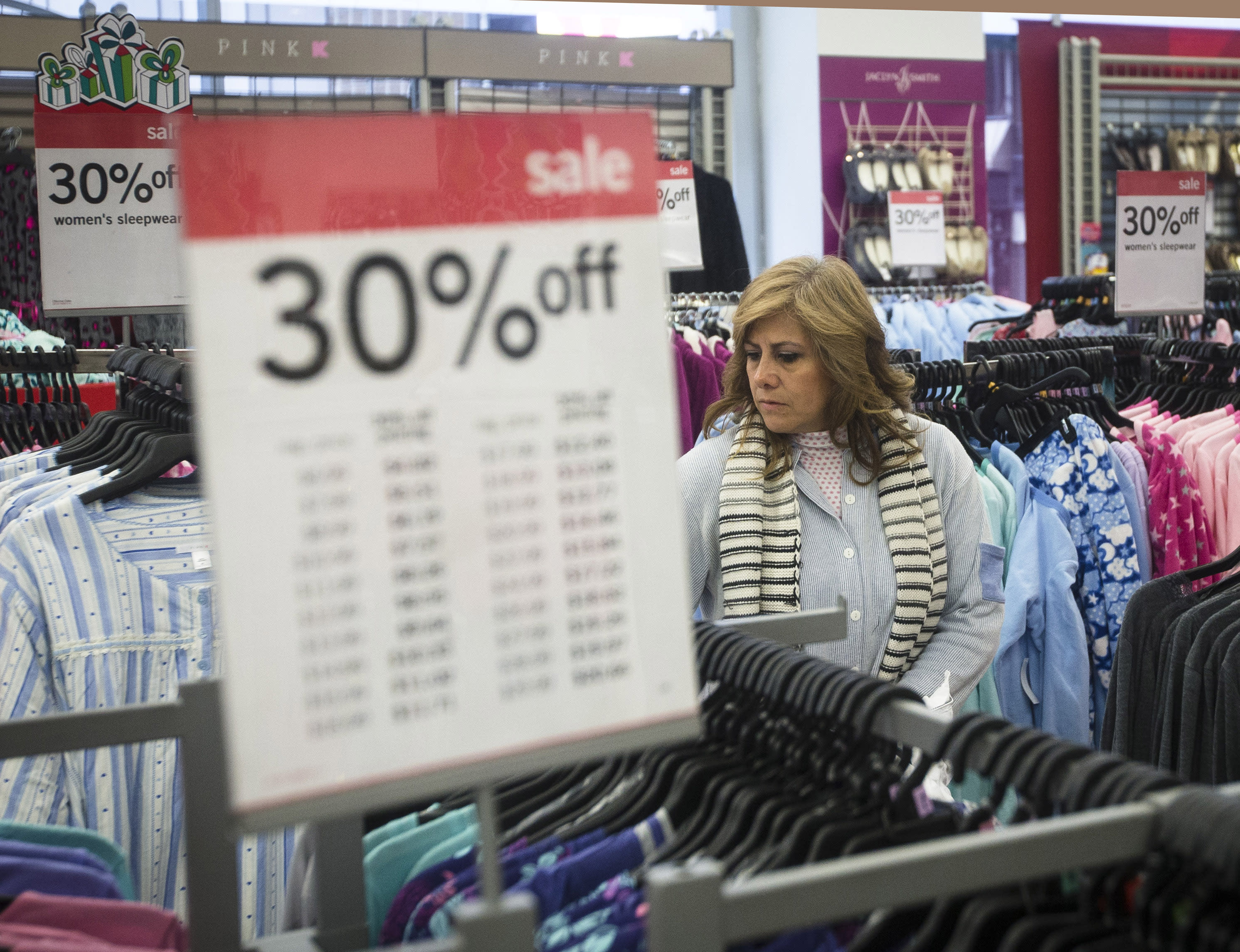Sales for holiday shopping season comes down to the wire