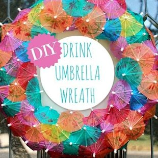 The perfect DIY summer party decoration! 
