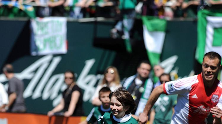 MLS: Portland Timbers-Make-A-Wish Event