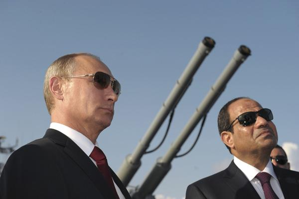 Russia and Egypt just got even closer
