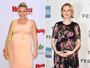 Busy Philipps, Evan Rachel Wood Found Out They Were Pregnant On the Same Day