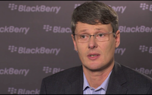 Blackberry Maker Gets a New CEO