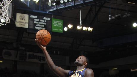 George leads Pacers past Kings in OT, 116-11