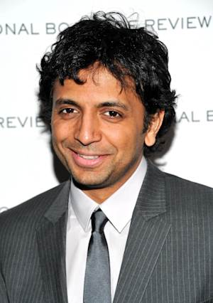 """FILE - In this Jan. 11, 2011 file photo, Filmmaker M. Night Shyamalan attends The National Board of Review of Motion Pictures awards gala at Cipriani's 42nd Street, in New York. Fox is taking a page from HBO and scheduling some """"big event"""" series. The network's entertainment chief, Kevin Reilly, said Tuesday, Jan. 8, 2013, that Fox wants to order some short series of around a dozen episodes or less, much like the cable network does. Fox announced a development deal with producer, M. Night Shyamalan for """"Wayward Pines,"""" a thriller Reilly compare to """"Twin Peaks."""" (AP Photo/Evan Agostini, File)"""