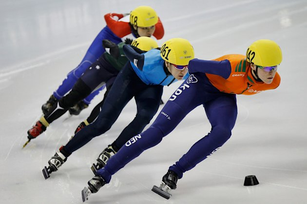 Lana Gehring (2nd R) Of United States Competes Getty Images