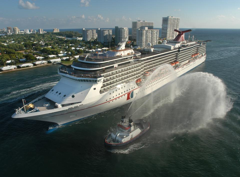 Troubled Carnival ship arrives back in Tampa