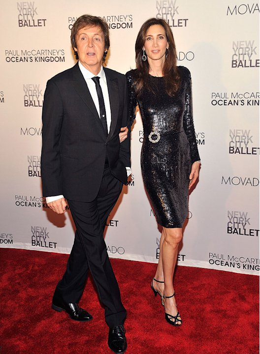 PauL Mc Cartney NYC Ballet Gala