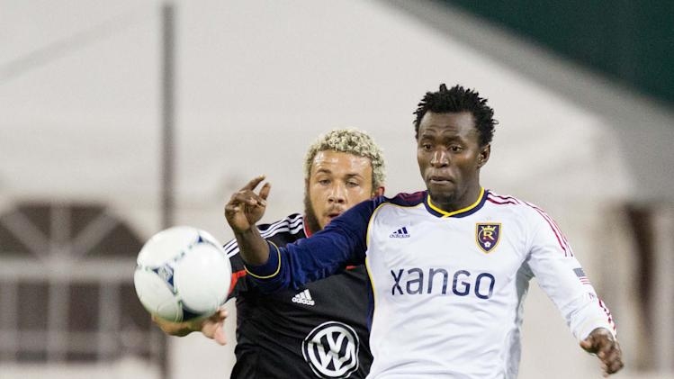 MLS: Real Salt Lake at D.C. United