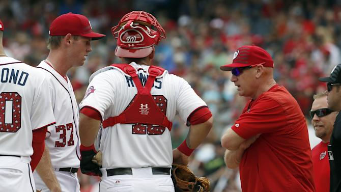 Nats put RHP Strasburg on disabled list with oblique strain