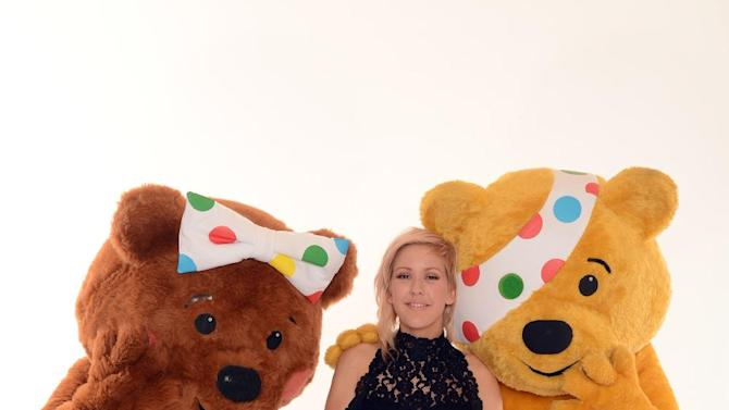 Ellie Goulding seen backstage at BBC's Children in Need at Television Centre on Friday, Nov. 16, 2012, in London. (Photo by Jon Furniss/Invision for Children in Need/AP Images)