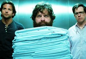 Bradley Cooper, Zach Galifianakis, Ed Helms | Photo Credits: Warner Bros. Pictures