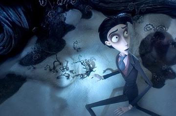 Victor (voiced by Johnny Depp ) from Warner Bros. Pictures' stop-motion animated film Tim Burton's Corpse Bride
