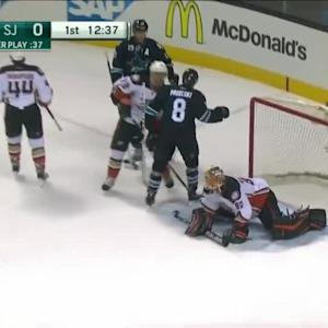 Anaheim Ducks at San Jose Sharks - 01/29/2015