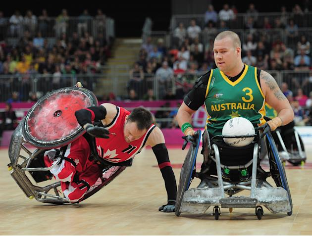 2012 London Paralympics - Day 7 - Wheelchair Rugby