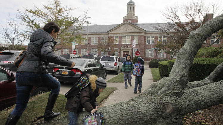 Schools return to life in storm-ravaged NYC, NJ