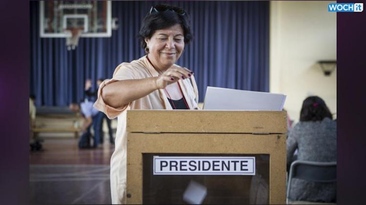 Bachelet Has Big Win In Chile Presidential Vote