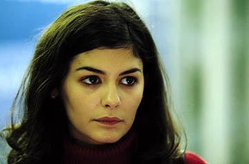 Audrey Tautou in Miramax's Dirty Pretty Things