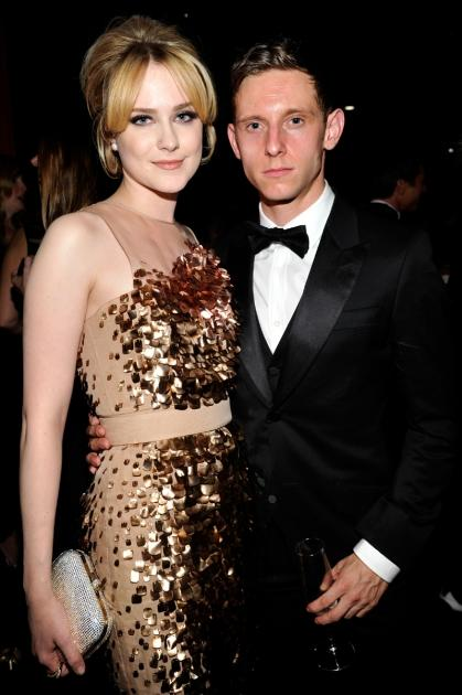 Evan Rachel Wood and Jamie Bell attend LACMA 2012 Art + Film Gala Honoring Ed Ruscha and Stanley Kubrick presented by Gucci at LACMA, Los Angeles, on October 27, 2012 -- Getty Images