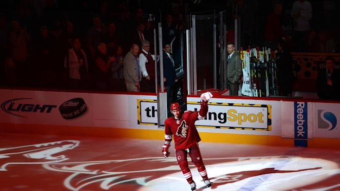 NHL: Dallas Stars at Phoenix Coyotes