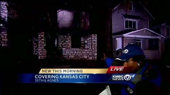 Fire damages 4 homes near 35th, Agnes
