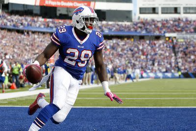 Karlos Williams suffered concussion, fantasy owners must wait for protocol