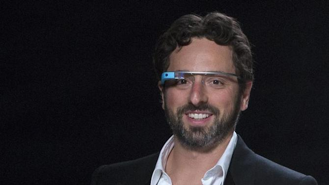 Google co-founder Sergey Brin during New York Fashion Week