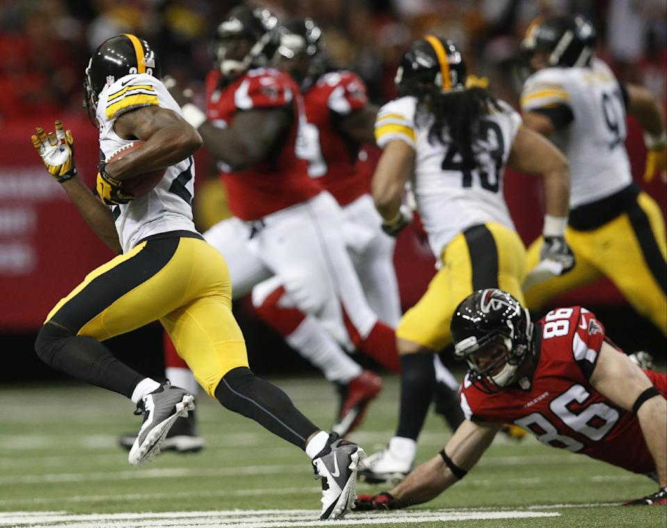 Roethlisberger helps Steelers beat Falcons 27-20