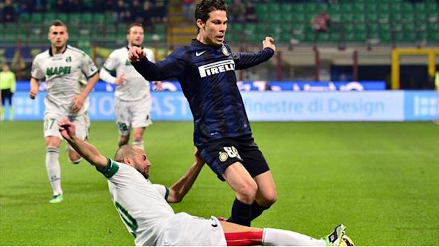 Serie A - Samuel gives Inter slender win over Sassuolo