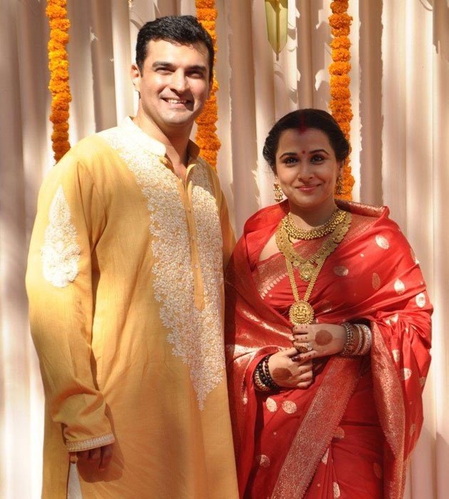 Vidya is now Mrs Sidharth …