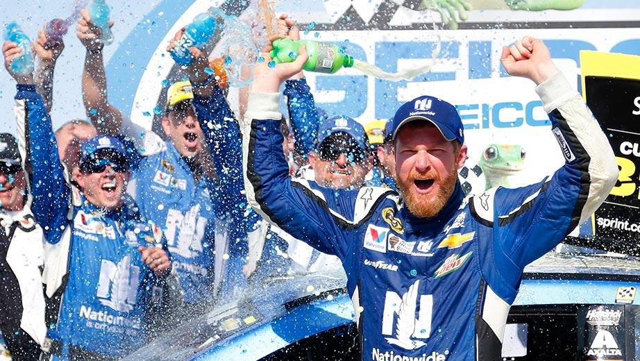 Dale Jr: 'I don't feel like I deserve it'