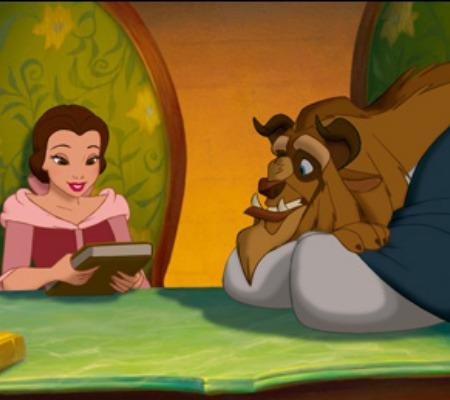 "From ""Beauty and the Beast"": Don't settle"