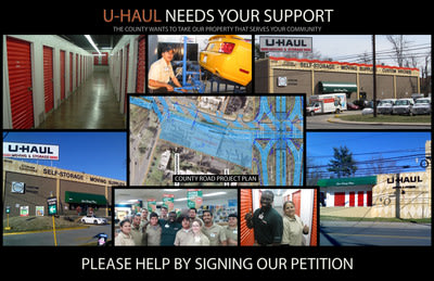 Keep U-Haul in Rockville: Petitioning the Montgomery County Department of Transportation