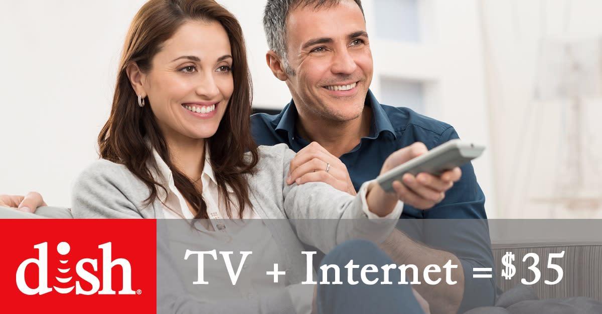 DISH® TV + Internet = $35
