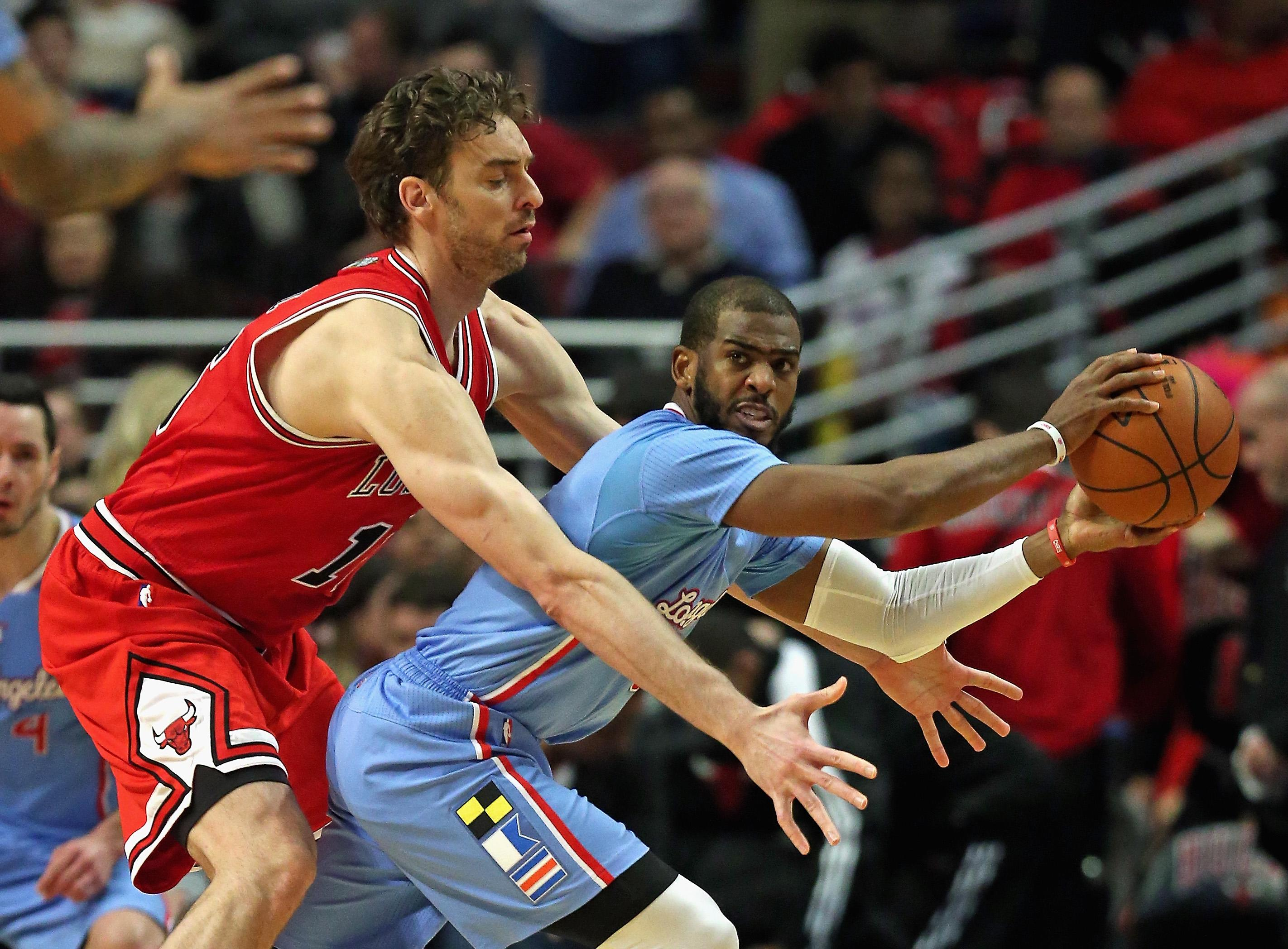 Chris Paul, DeAndre Jordan lead Clippers past Bulls 96-86