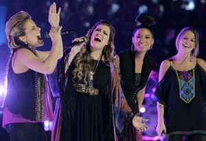 Amber Carrington, Sarah Simmons, Judith Hill, Caroline Glaser | Photo Credits: Trae Patton/NBC