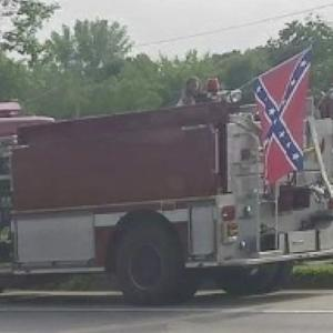 MN Firefighter Suspended After Flying Confederate Flag In Independence Day Parade