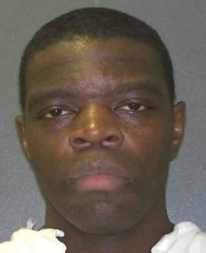 Texas death row inmate Derrick Charles is seen in an undated handout picture