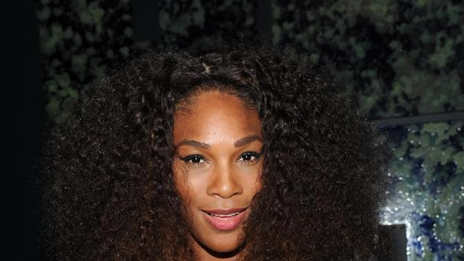IMAGE DISTRIBUTED FOR PepisCo - Serena Williams attends the PepsiCo Pre-Super Bowl Party, at Masquerade Night Club, on Friday, Feb. 1, 2013 in New Orleans. (Photo by Evan Agostini/Invision for PepsiCo/AP Images)