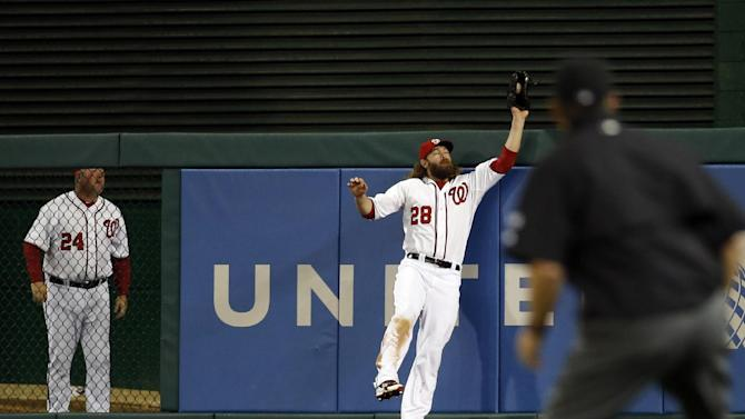 Werth catch saves Nationals 5-2 win over Mets
