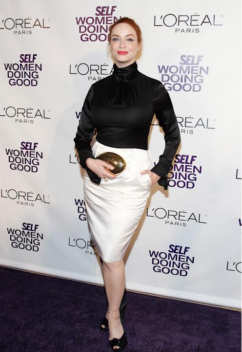 Christina Hendricks (Mark Von Holden/WireImage)