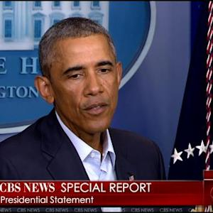 Obama Discusses Ferguson Unrest