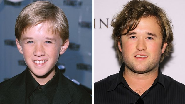 Haley Joel Osment, then and now
