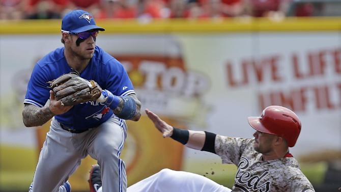 Blue Jays' Lawrie on DL, Bautista sits for now