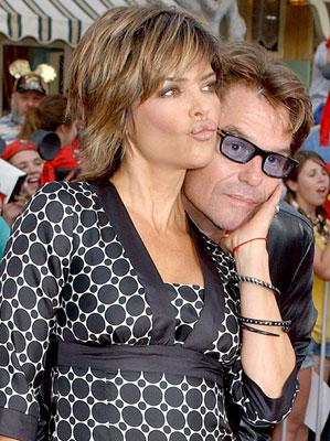 Premiere: Harry Hamlin and Lisa Rinna at the Disneyland premiere of Walt Disney Pictures' Pirates of the Caribbean: Dead Man's Chest - 6/24/2006