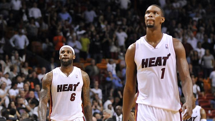 LeBron's game-winning layup, Bosh's game-saving block seal Heat…