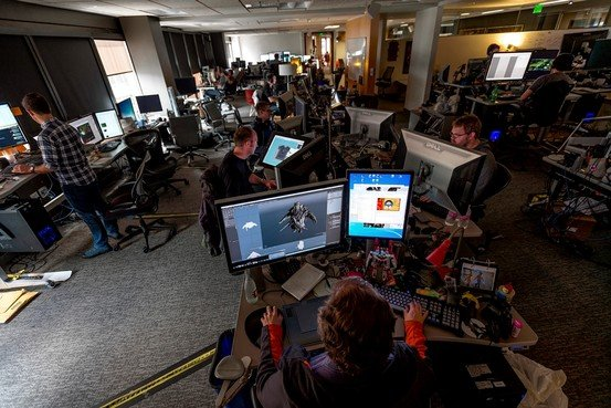 At the videogame maker Valve Corp. employees recruit colleagues to work on projects.