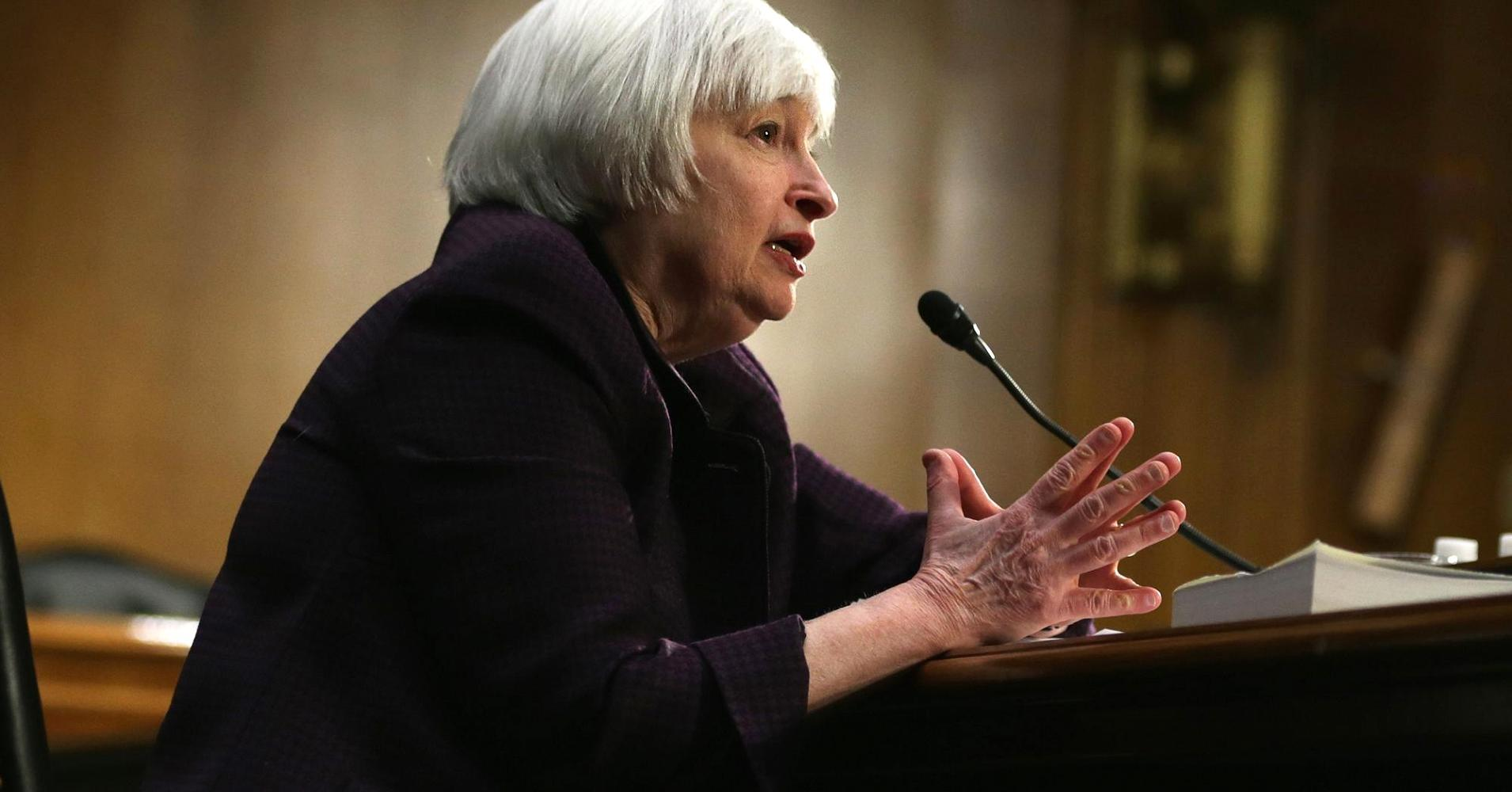 Yellen lashes out at banks on poor 'values'