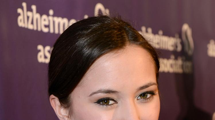 Actress Zelda Williams arrives at the 21st Annual 'A Night at Sardi's' to benefit the Alzheimer's Association at the Beverly Hilton Hotel on Wednesday, March 20, 2013 in Beverly Hills, Calif. (Photo by Jordan Strauss/Invision for Alzheimer's Association/AP Images)