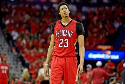 Anthony Davis is adding muscle, becoming even more terrifying