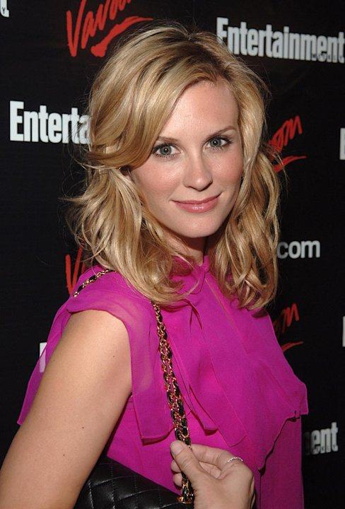 Bonnie Somerville at the Entertainment Weekly/Vavoom 2007 Upfront Party.